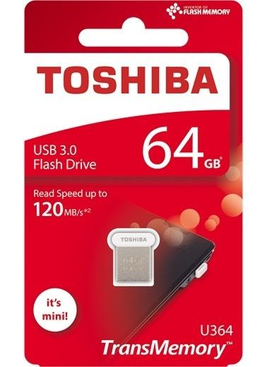 Toshiba 64Gb Usb 3.0 U364 O:120Mb/Sn (Towadako) Renkli